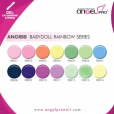 SOAK-OFF GEL BABYDOLL RAINBOW SERIES